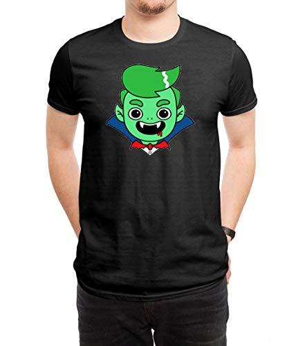 HUANGHUIH Herren Guava Juice Halloween Cotton Print T-Shirt Top Tee X-Large