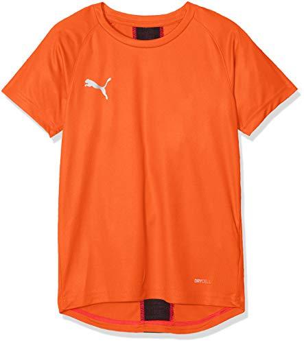 PUMA Kinder ftblNXT Shirt Jr T, Red Blast Black, 164