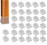 Protectores Muebles de Silicona 32 pcs Protectores Patas Sillas Tapas de Patas...