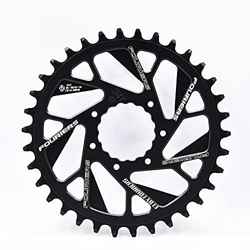 Platos Para Bicicletas Anillo de cadena simple con n / w diente de aluminio bicicleta de montaña bicicleta cadena rueda de cadena 0mm desplazamiento de manivelas Plato Ovalado 32 Mtb ( Color : 40T )