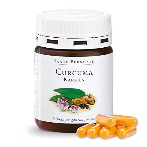 Curcuma-Kapseln mit Extrakt aus schwarzem Pfeffer (Bioperine®) und Cholin Inhalt 60 Kapseln