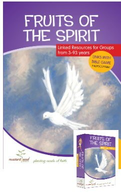 Fruits Of The Spirit Bibel Aktivität und Ressourcen Book Plus Card Games Pack
