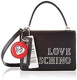 Love Moschino JC4238PP0BKG0, BORSA A SPALLA Donna, Nero, Normale