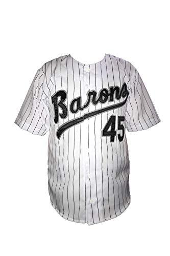 MJ Jeffrey Jordan Baseball Stitch Jersey #45 Barons (54)