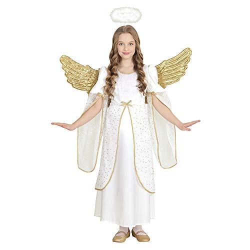 Widmann - kinderkostuum engel pak 140 cm wit