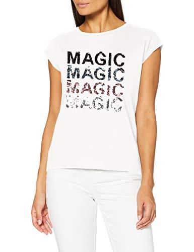 Springfield 1388908 T-Shirt, Blanco, XS Womens
