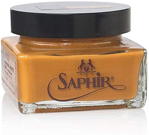 Saphir Ledersattelseife, - Hellbraun (Marron Clair) - Größe: 75 ml