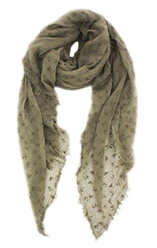 Armani Jeans Damen Tuch grau (13) 000