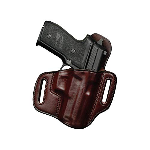 """Don Hume H721OT Holster Right Hand Brown 4.25"""" 1911 Commander Leather J336104R"""