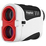 Raythor Pro GEN S2 Golf Rangefinder, Laser Range Finder with Pinsensor and Physical Slope Switch, Continuous Scan, Rechargeable Battery, Tournament Legal Rangefinder for Professional Golfers