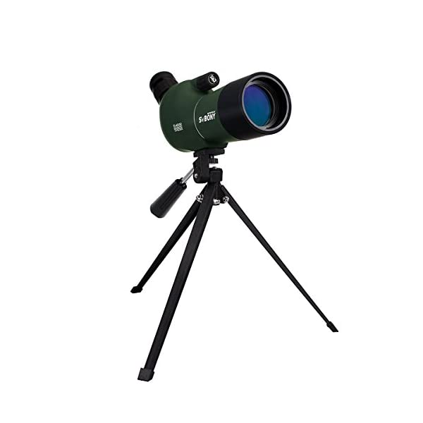 SVBONY Spotting Scope Telescope 15-45x50/20-60x60/25-75x70mm Bird Scopes for Shooting Birdwatching Scope in Shooting Range with Tripod and Phone Adapter
