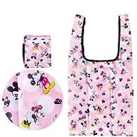 ミッキー & ミニー エコバッグ 27503 ディズニー Disney 収納 お買い物 ショッピング コンパクト BAG バッグ