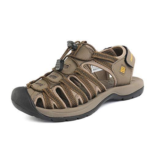 DREAM PAIRS Women's 160912-W-New Khaki Yellow Adventurous Summer Outdoor Sandals Size 10 M US