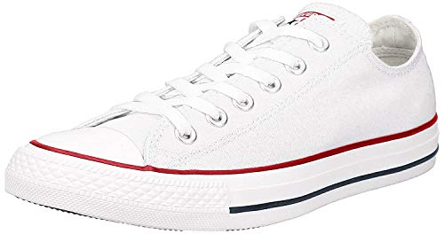 Converse Unisex Chuck Taylor All Star Ox Low Top Optical White Sneakers - 6 D (M) Optical white