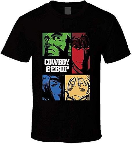 Whgdeftysd Cowboy Bebop Anime mannen korte mouw grappig T-shirt