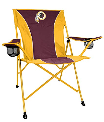 Rawlings NFL T2 Quad Tailgate and Camping Folding Chair, Washington Redskins