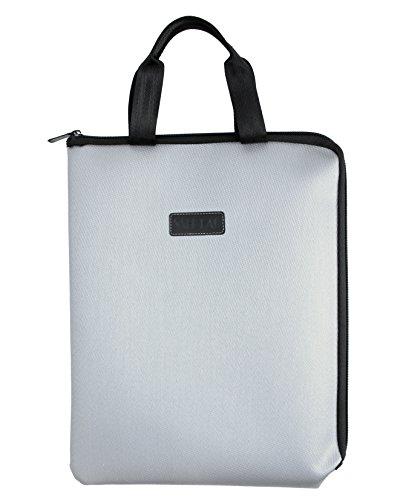 耐熱 耐火 鞄 かばん バッグ 書類 保管 ケース 金庫 ビジネス アウトドア 現金 収納 集金 防水 防災 手提げ 家庭用 小型 A4サイズ対応 グレー
