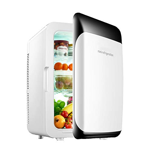 wangt Camping mini-koelkast, super capaciteit, 18 l, elektrische koelbox, draagbare autokoelkast, dual voltage koelkasten voor vakantie