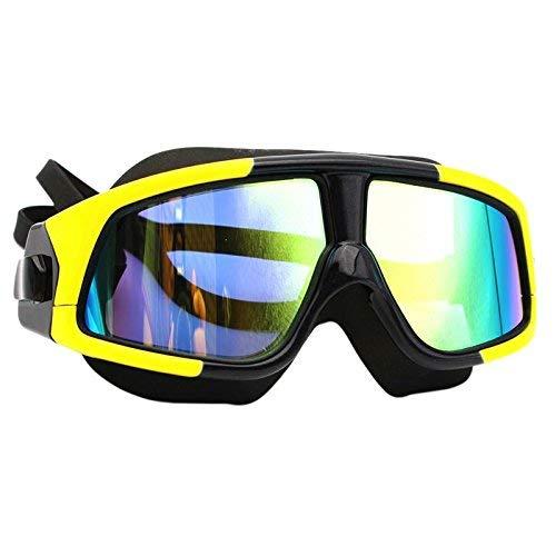 JDK Schwimmbrille Adult High-Definition wasserdichter Nebel verhindert UV-Ultra-Large-Box Professionelle Schwimmbrille (Beschichtung/polarisiert) Weitsicht