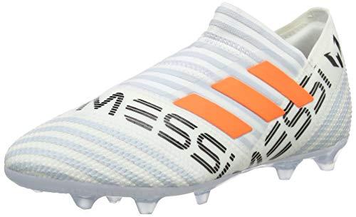 adidas adidas Unisex-Kinder Nemeziz Messi 17+ 360Agility FG Fußballschuhe, Weiß (weiß/orange weiß/orange), 37 1/3 EU
