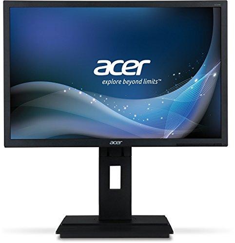 Acer B196Lymdr Monitor (VGA, DVI), donkergrijs VGA + DVI + displaypoort. 55,8 cm (22 inch) grijs