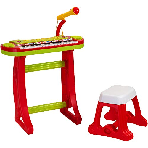 Globo Toys 5148 Vitamina _ G 31-Keys Clavier avec Micro et Tabouret