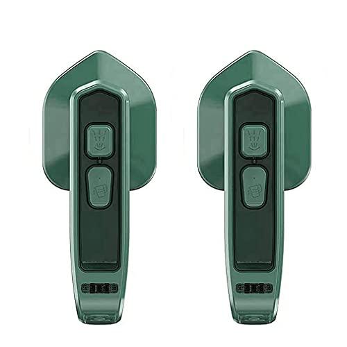 Micro plancha de vapor profesional portátil inalámbrica, plancha de vapor doméstica, vaporizador de ropa de mano (2PCS)