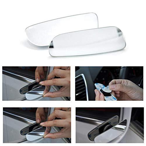 Hcxh-A Car Punto Ciego Espejo Ajustable 360 Grados de visión Trasera Espejo retrovisor del Coche de Aparcamiento Espejo Convexo ángulo de Anchura en Todo Tiempo