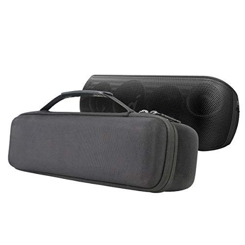 Khanka Tasche Hülle Für So&core Motion+ Plus Anker Bluetooth Lautsprecher Speaker & USB Ladegerät kables Zubehör Etui Hülle.(nur Tasche)