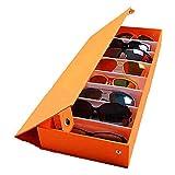 MUY Gafas de Sol Estuche de Almacenamiento de Gafas Pantalla de Gafas Caja de cristalería Herramienta ordenada