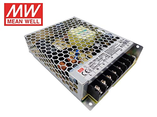 Fuente de alimentacion 100W 24V 4.5A Mean Well Enclosed LRS-100-24 Power Supply AC/DC