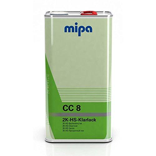 MIPA CC8 2K HS Klarlack VOC für Lufttrocknung, 5Ltr.
