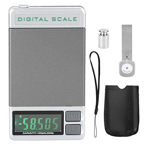 Rehomy Medidor de peso preciso con aguja para tocadiscos y reproductor de discos de gran pantalla