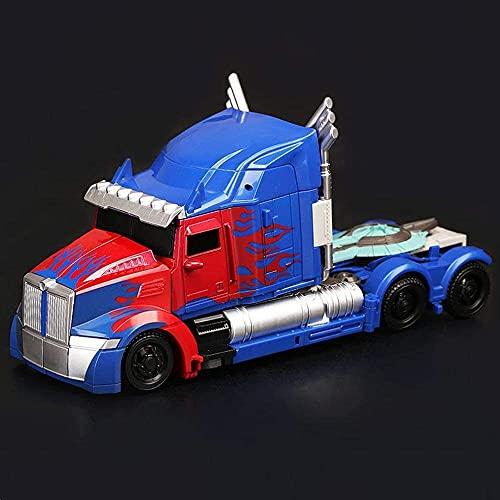 Action Figure Transformers 5 Black Mamba LKW Optimus Prime Deformierbare Kollektion Animierte Figur Modell Statue Dekoration - Kinder Geschenke -22cm A