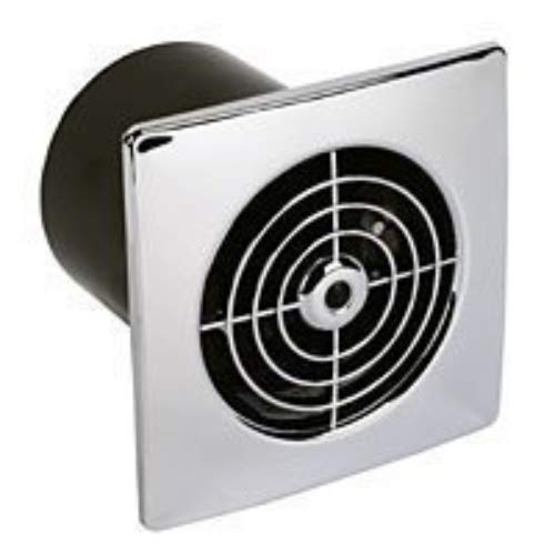Manrose 100mm Low Profile Extractor Fan/Timer - Ch