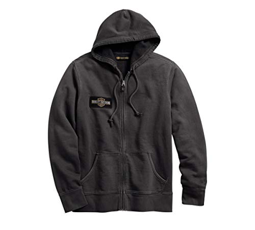 Harley-Davidson Men's Eagle Logo Slim Fit Hooded Sweatshirt