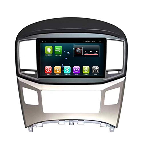Car Radio GPS Navi Android 8.1 for Hyundai H1 Starex Royale Travel Cargo 2007-2013 Multimedia Player Head Unit WiFi Stereo Navigation (Android8.1 2+32G for H1)