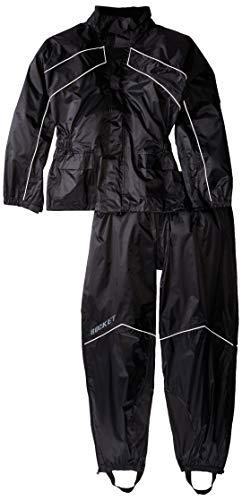 Joe Rocket 1010-1004 RS-2 Men's Motorcycle Rain Suit (Black, Large) New Mexico