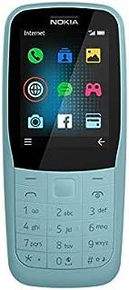 نوكيا 220 TA-1155 بشريحتي اتصال - 24 ميجا، الجيل الرابع ال تي اي، ازرق