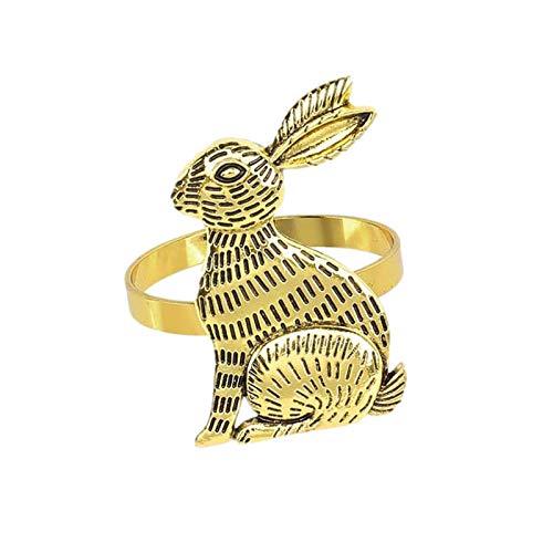 Cucheeky 2 servilleteros de conejo de Pascua para fiestas