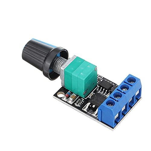 Módulo electrónico DC Motor gobernador 5V-16V 10A Interruptor de velocidad del regulador de velocidad Dimmer LED 5pcs Equipo electrónico de alta precisión