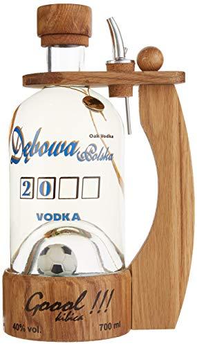 Debowa Polska Wodka Goal Fussbal mit Henkel (1 x 0.7 l)