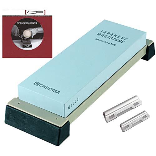 Chroma Schleifsteinset: ST1000 mit DVD und Schleifhilfe