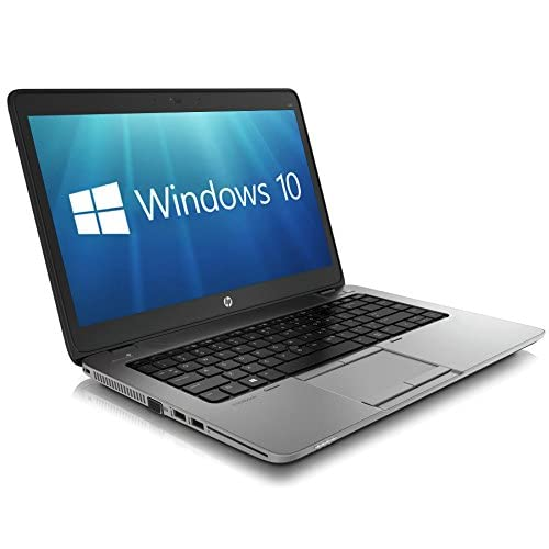 HP EliteBook 840 G1 14-inch Ultrabook (Intel Core i5 4th Gen, 8GB Memory, 256GB SSD, WiFi, WebCam, Windows 10 Professional 64-bit) (Renewed)