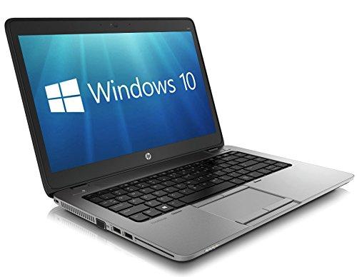 HP EliteBook 840 G1 14 inch Ultrabook Intel Core i5 4th Gen 4GB Memory 320GB HDD WiFi WebCam Windows 10 Professional 64 bit Certified Refurbished