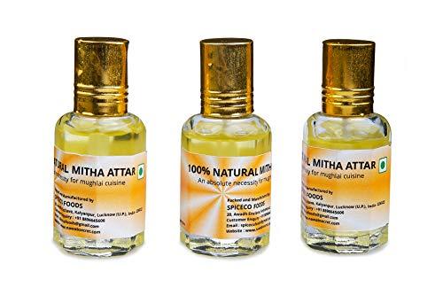 Nawab's Secret Mitha Attar/Keora Essence Pack of 3(10 ml*3)] for Biryani and mughlai dishes