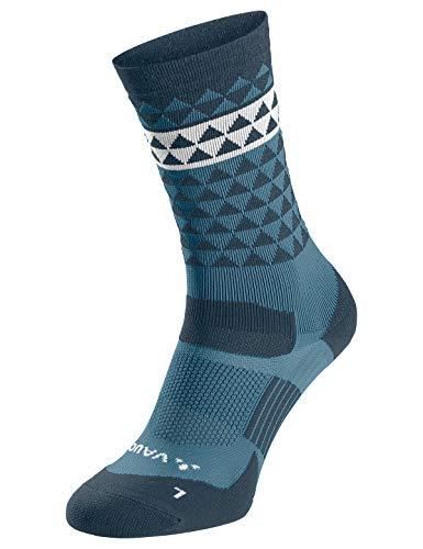 VAUDE Accessories Bike Socks Mid, blue gray, 39-41, 40135