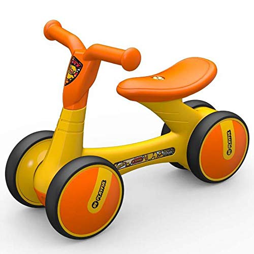 Read About Baby Balance Bike No Pedal Baby Car Ride on Toy for 2-6 Years Old Children Walker Durable...