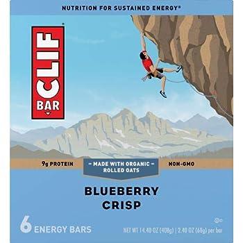 Blueberry Crisp Energy Bar  Pack of 2