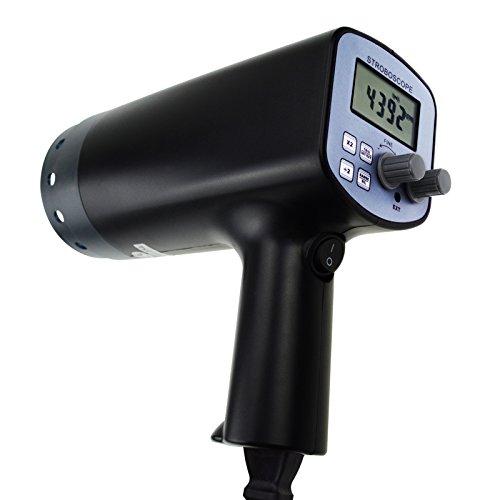 Gain Express Digital Handheld Stroboscope with 50-12,000 FPM 110V